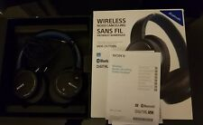 Sony Bluetooth Wireless Noise Cancelling Headphones – Blue (MDRZX770BNLCE7)