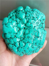 1097g Green Turquoise rock polished Rough stone Nugget Healing  G846