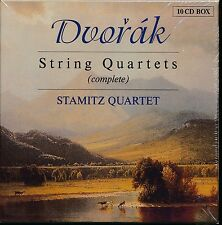 Stamitz Quartet Complete STRING QUARTETS 10-disc CD NEW Antonin DVORAK