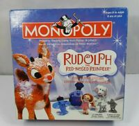 Monopoly Rudolph The Red-Nosed Reindeer Game Collector's Edition 6 Pewter Tokens