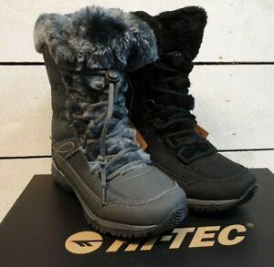 Ladies Hi-Tec Equilibrio St Bijou 200 iWP Breathable Synthetic Snow Boots