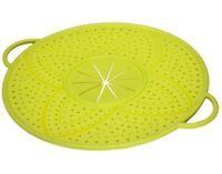 5in1 Silikon Küchen-Helfer Topf-Untersetzer Mikrowellen-Deckel Torten-Schablone