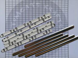 Aluminium Metal Nose Strip Nose Bridge Clip Self Adhesive Strip For Mask Making