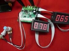 2*250W Dual Brush DC brush motor speed controller 9-24V governor pwm on display