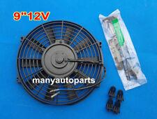 """9"""" 9 inch Universal Electric Radiator / Intercooler COOLING Fan & mounting kit"""