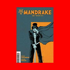 ☆KING DYNAMITE COMICS: MANDRAKE THE MAGICIAN #3 VF CONDITION COMIC BOOK BAGGED ☆