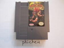 Contra Revenge of the Red Falcon NES Nintendo USA NTSC video game cartridge