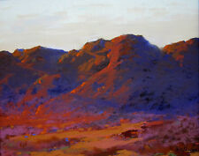 "ERNEST HENRY POHL Signed c. 1936 Original Oil Pastel - ""In the Mojave"""