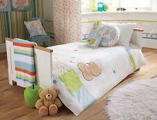 Forever Friends  Baby Nursery Blue Stars Boys Toddler Bed Duvet Cover Set