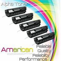 5 PK FX9 FX10 Toner Cartridges For Canon 104 ImageClass MF4150 MF4350D D420 D480