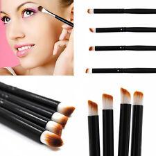 4Pcs Black Makeup Brushes Kit Eye Cosmetics Eyeshadow Eyeliner Brush Set Tools