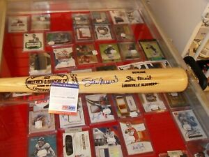 Stan Musial Autographed Louisville Slugger 125 Model Bat PSA/DNA Authenticated