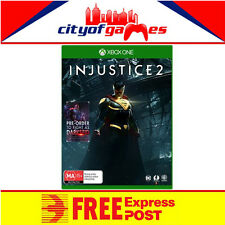 Injustice 2 Includes DARKSEID DLC  Xbox One Game New & Sealed Free Express Post