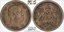 1883 Hawaii 10 ¢ PCGS XF40