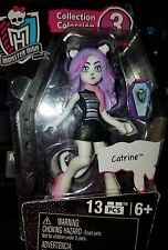 Monster High Mega Bloks CATRINE Series Collection 3 Mini Doll Poseable Blocks