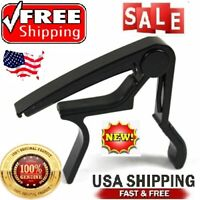 US Guitar Capo Trigger Quick Change Key Clamp Ukulele Mandolin Acoustic Electric