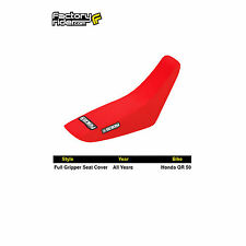 HONDA QR 50 All Red FULL GRIPPER SEAT COVER BY Enjoy MFG FIT ALL YEARS!