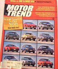 Motor Trend Magazine Subaru GL Sedan Maxima March 1982 072917nonrh