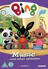Bing - Music and Other Episodes DVD 2016 BBC Cbeebies Kids