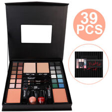39 Pieces Max And More Make-Up Box Set Gift Vanity Case Eyeshadow Pallets ALI