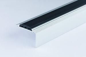 Anodised Aluminium Stair Nosing Edge Trim Step Nose Edging Nosings 1.20 METER