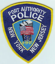 NEW YORK-NEW JERSEY PORT AUTHORITY POLICE 9-11/01 COMMEMORATIVE PATCH