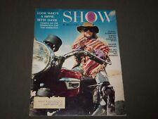 1971 April Show Magazine Of Films & Arts - Bette Davis Cover - Cw 19