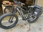 2021 Rambo Electric Bike  Pursuit  750W Free Accessories Black and Gray