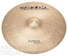 Istanbul AGOP Traditional 22 Medium Ride - 3391g - NEW - In Stock