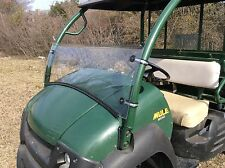 "2006-2016 KAWASAKI MULE 600, 610  3/16"" POLYCARBONATE HALF  WINDSHIELD"