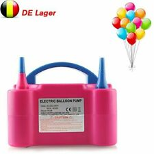 Neu 600W Ballonaufblasgerät Elektrische Ballonpumpe Luftballons Pumpe für Partys