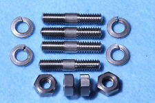 BSA Sump Filter Plate Stainless Steel Studs Long for alloy finned sump plate.