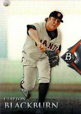 2014 Bowman Platinum Prospects #BPP49 Clayton Blackburn San Francisco Giants