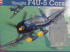 F4U-5 Corsair Vought -  Revell Flugzeug Bausatz 1:48 -  04527   #E - gebr.