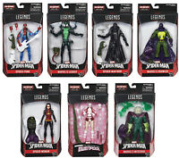 Marvel Legends ~ SPIDER-MAN ACTION FIGURE SERIES 9 SET w/THE LIZARD BAF COMPLETE