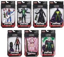 Marvel Legends ~ SPIDER-MAN ACTION FIGURE SERIES 9 SET w/THE LIZARD BAF COMPLETE