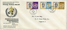 61251  - BRUNEI - POSTAL HISTORY - FDC COVER   SG # 166/68 1968 - WHO Medicine
