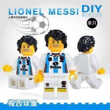 Custom Football Lionel Messi SUPER HE Building Blocks Minifigures kids Gift Toys