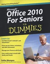 Office 2010 For Seniors For Dummies-ExLibrary