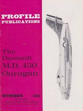 Profile Aircraft No.143 The Dassault M.D. 450 Ouragan (French 1950s Fighter)