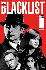 NBC'S THE BLACKLIST #5 A ART COVER TITAN COMICS JAMES SPADER TV SERIES 1ST PRINT