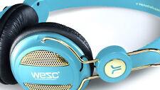 CUFFIA DJ WESC OBOE GOLD PORCELAIN+MICROFONO per iPhone iPad iPod Mp3 Usb Player