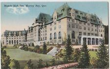 c1910 MURRAY BAY Quebec Canada Postcard MANOIR RICHELIEU