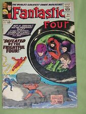 """FANTASTIC FOUR, Comic #38 - 1965, """"Defeated by the Frightful Four!"""", Fine"""