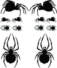 RC airbrush stencils/ paint masks black widows (SINGLE USE ONLY)