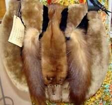 Mink/Faux Fur Artisan Handbag!