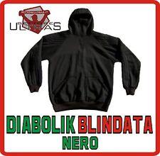 SOFT AIR Felpa DIABOLIK BLINDATA NERO rinforzata army protezione ULTRAS STADIO