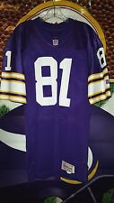 ANTHONY CARTER #81 MINNESOTA VIKINGS WILSON PRESTIGE TEAMS JERSEY 1980'S SIZE 42