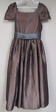 Growing Up~Girl's size 10 Fancy/Shiny/Dressy/Metallic Jumper/Dress/Sleeveless