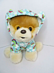Boo Kids Gund Rainbow Boo. The Worlds Cutest Dog Plush Toy In Rainbow Hoodie.
